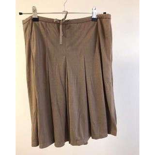 ユニクロ(UNIQLO)のユニクロひざ又スカート(ひざ丈スカート)