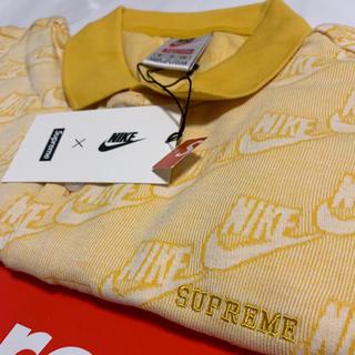 シュプリーム(Supreme)の18FW Supreme Nike Jacquard Polo マスタード(ポロシャツ)