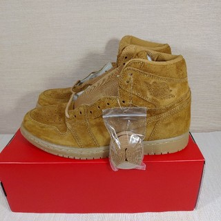 ナイキ(NIKE)のNIKE AIR JORDAN 1 RETRO HIGHT OG WHEAT(スニーカー)