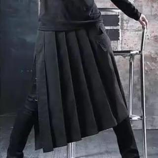 メンズスカート 巻きスカート モード ヨウジヤマモト好きに レディース 兼用(その他)
