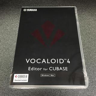 vocaloid4 Editor for cubase 未開封(DAWソフトウェア)