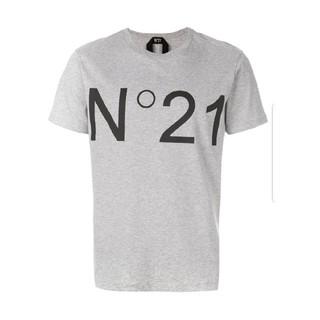 ヌメロヴェントゥーノ(N°21)のヌメロヴェントゥーノ ロゴTシャツ(Tシャツ/カットソー(半袖/袖なし))