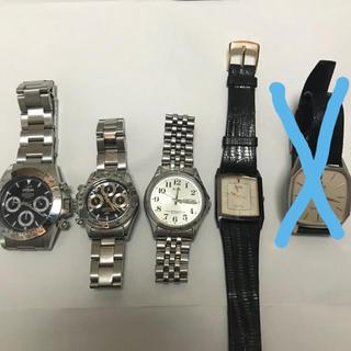 セイコー(SEIKO)の【SEIKOなど】腕時計4点セット※状態の確認をお願いいたします【値下げ不可】(腕時計(アナログ))