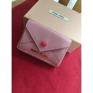 ミュウミュウ(miumiu)のMIUMIU 折り財布(財布)