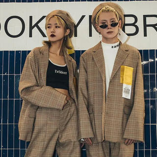 韓国系 TUNE セットアップ スーツ 送料無料(セットアップ)