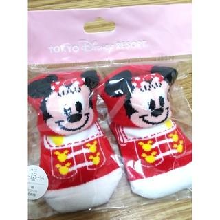ディズニー(Disney)のベビー靴下 ミニー ディズニーリゾート(靴下/タイツ)