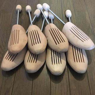 限界値下げ!! レディース用 木製 シューキーパー  4足(その他)