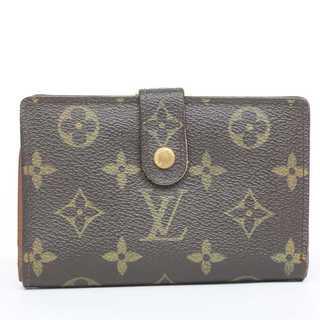 ルイヴィトン(LOUIS VUITTON)の限界価格 本物 美品 ルイ ヴィトン モノグラム がま口二つ折り財布 219(財布)