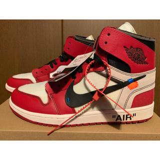 ナイキ(NIKE)のOFF-WHITE x NIKE AIR JORDAN 1  THE TEN(スニーカー)