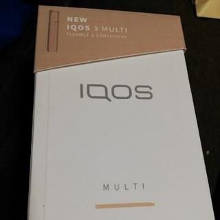アイコス(IQOS)のアイコス3 マルチ ゴールド(タバコグッズ)