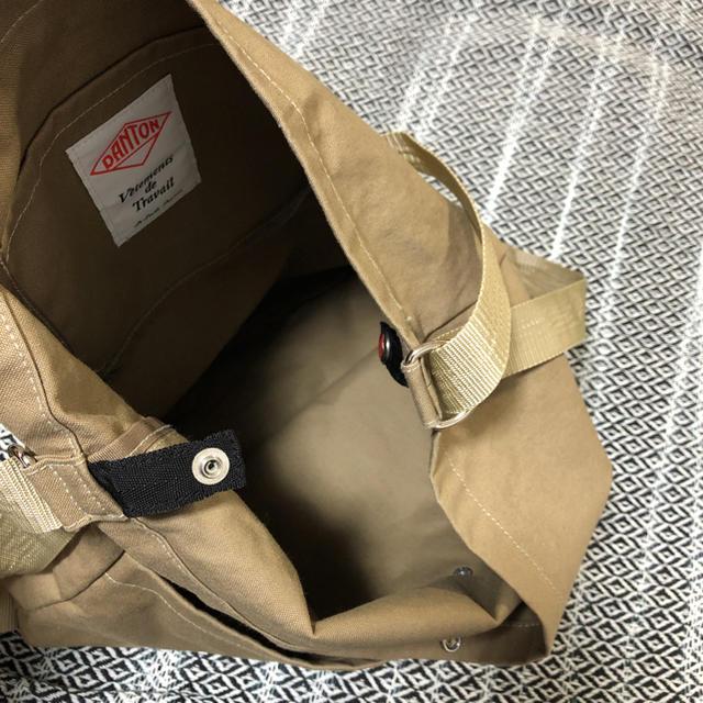 DANTON(ダントン)のDANTON  ユーティリティーショルダーバッグ  ベージュ レディースのバッグ(リュック/バックパック)の商品写真