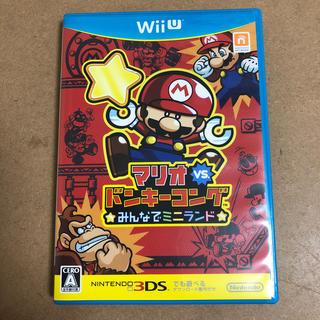 ウィーユー(Wii U)のマリオVSドンキーコング ☆みんなでミニランド☆(家庭用ゲームソフト)