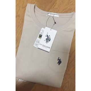 ポロラルフローレン(POLO RALPH LAUREN)のポロ u.s.polo assn Tシャツ ベージュ(Tシャツ(半袖/袖なし))