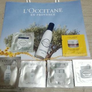 ロクシタン(L'OCCITANE)のロクシタン レーヌブランシュ 化粧水&サンプルセット【新品未使用】(化粧水 / ローション)
