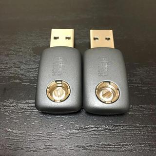 プルームテック(PloomTECH)のプルームテック 純正 USBチャージャー 2個 33(タバコグッズ)