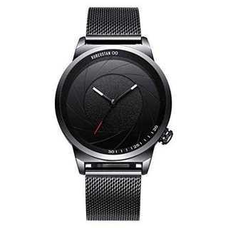 腕時計 メンズ 防水 おしゃれ (ブラック) 新品★A3(腕時計(アナログ))