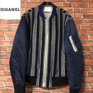 ディガウェル(DIGAWEL)の【激レア】 ディガウェル 13aw MA-1ジャケット(ブルゾン)