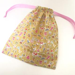 ボンポワン(Bonpoint)の輸入リバティ [リトル・トレジャーズ] 巾着袋 ・ 給食袋(その他)