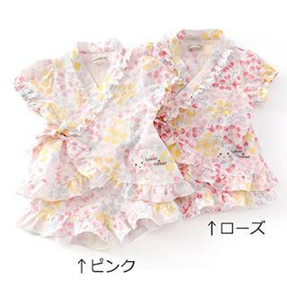 クーラクール(coeur a coeur)の100 クーラクール 甚平 ローズ(甚平/浴衣)