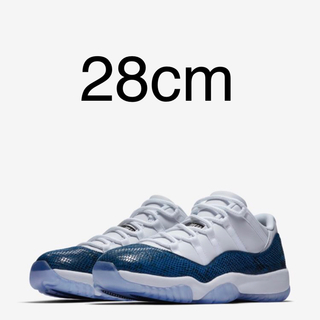 ナイキ(NIKE)の28cm Air Jordan 11 Retro Low NAVY(スニーカー)