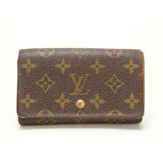 ルイヴィトン(LOUIS VUITTON)の良品 本物 ルイ ヴィトン モノグラム 二つ折り財布 正規品t(財布)