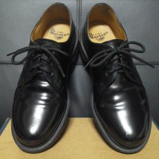ドクターマーチン(Dr.Martens)の【美品】Dr.Martens 3ホール UK7 黒 1461 PW(ブーツ)