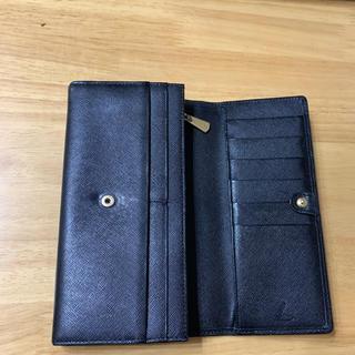 ツチヤカバンセイゾウジョ(土屋鞄製造所)の土屋鞄 ロングウォレット ブラック 黒 極美品(財布)