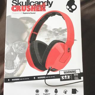 スカルキャンディ(Skullcandy)の新品未使用 Skullcandy ヘッドホン(ヘッドフォン/イヤフォン)