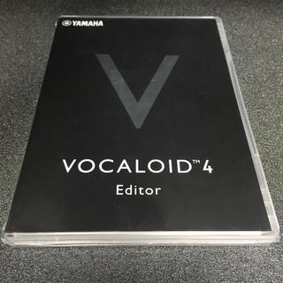 vocaloid4 Editor(DAWソフトウェア)