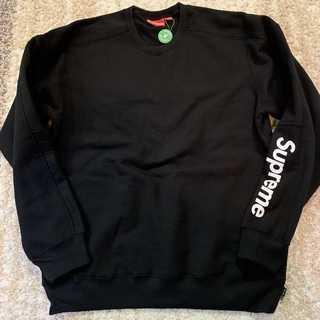 シュプリーム(Supreme)のSupreme Formula Crewneck Sweatshirts 黒L(スウェット)