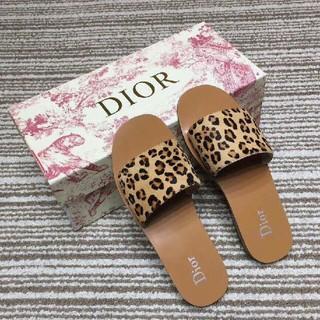 37CM  Dior アスリッパ  ディオール サンダル