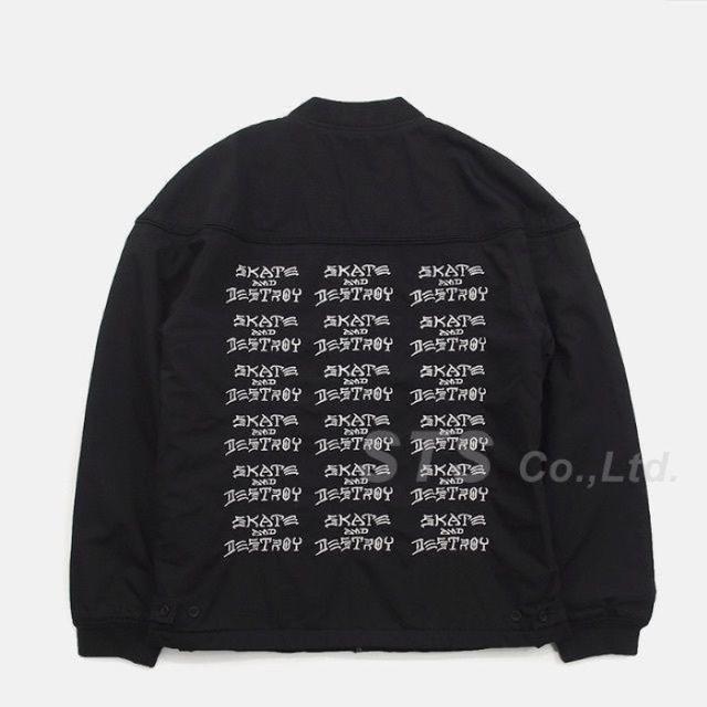 e37347ab2f31 Supreme(シュプリーム)のSupreme Thrasher Poplin Crew Jacket 黒M メンズのジャケット