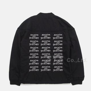 シュプリーム(Supreme)のSupreme Thrasher Poplin Crew Jacket 黒M(ミリタリージャケット)