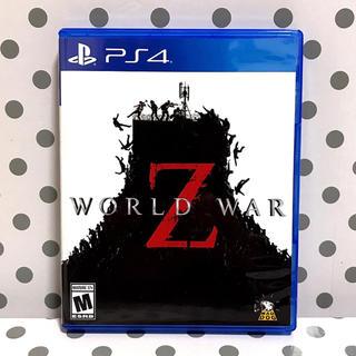 プレイステーション4(PlayStation4)の★ほぼ新品 PS4 ワールドウォーZ 北米版(家庭用ゲームソフト)