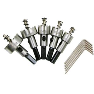 ドリルビット ホールソー  セット  工具 5本 DIY(工具/メンテナンス)