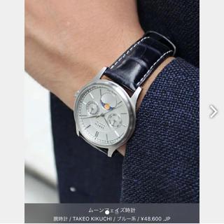 タケオキクチ(TAKEO KIKUCHI)のTAKEO KIKUCHI ムーンフェイズ腕時計(腕時計(アナログ))