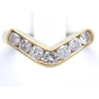 プラチナ K18 ダイヤモンド 0.50ct リング(リング(指輪))