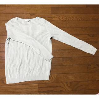 ユニクロ(UNIQLO)のユニクロ 春 セーター 【美品】(ニット/セーター)