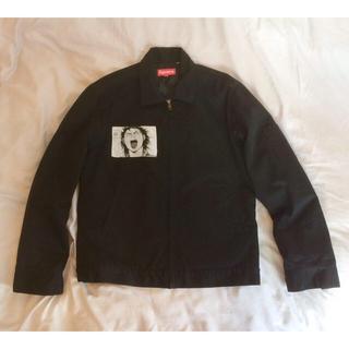 シュプリーム(Supreme)のSサイズ Supreme AKIRA work jacket 黒 本物 美品(ブルゾン)