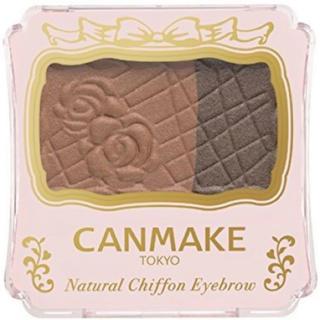 キャンメイク(CANMAKE)のキャンメイク ナチュラルシフォンアイブロウ 04(パウダーアイブロウ)