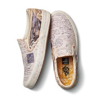 ヴァンズ(VANS)のVincent Van Gogh Classic Slip-On LETTERS(スニーカー)