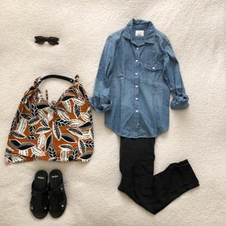 PLST♡王道ダンガリーシャツほぼ未使用美品
