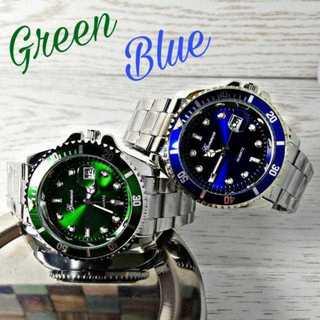 超おしゃれセット メンズ 腕時計 ウォッチ シルバー ペアウォッチ ステンレス(腕時計(アナログ))