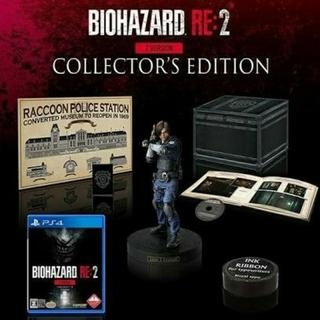 プレイステーション4(PlayStation4)の新品未開封 バイオハザード RE:2  コレクターズ・エディション(家庭用ゲームソフト)