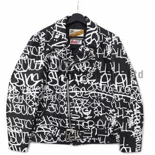 シュプリーム(Supreme)のSupreme CDG Leather Jacket Lサイズ(レザージャケット)