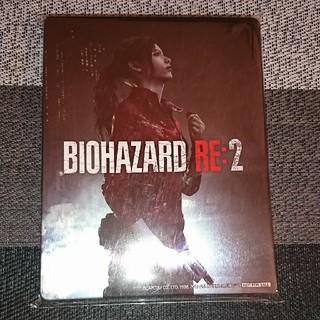 プレイステーション4(PlayStation4)のバイオハザード RE:2 ゲオ限定 スチールブック(家庭用ゲームソフト)