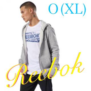 リーボック(Reebok)のReebok リーボック パーカー フーディー メンズ 新品 グレー O(XL)(パーカー)