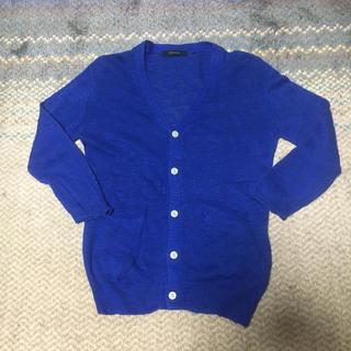 レイジブルー(RAGEBLUE)の未使用  RAGE BLUE  七分袖  カーディガン  ニット  Mサイズ (カーディガン)