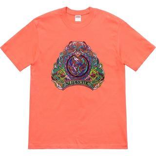 シュプリーム(Supreme)のSupreme Knot Tee オレンジS(Tシャツ/カットソー(半袖/袖なし))