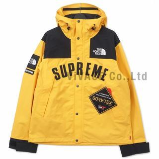 シュプリーム(Supreme)のSupreme TNF Arc Logo Mountain Parka 黄S(マウンテンパーカー)